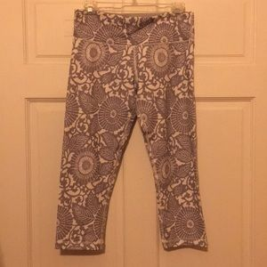 lululemon athletica wunder under crop size 8